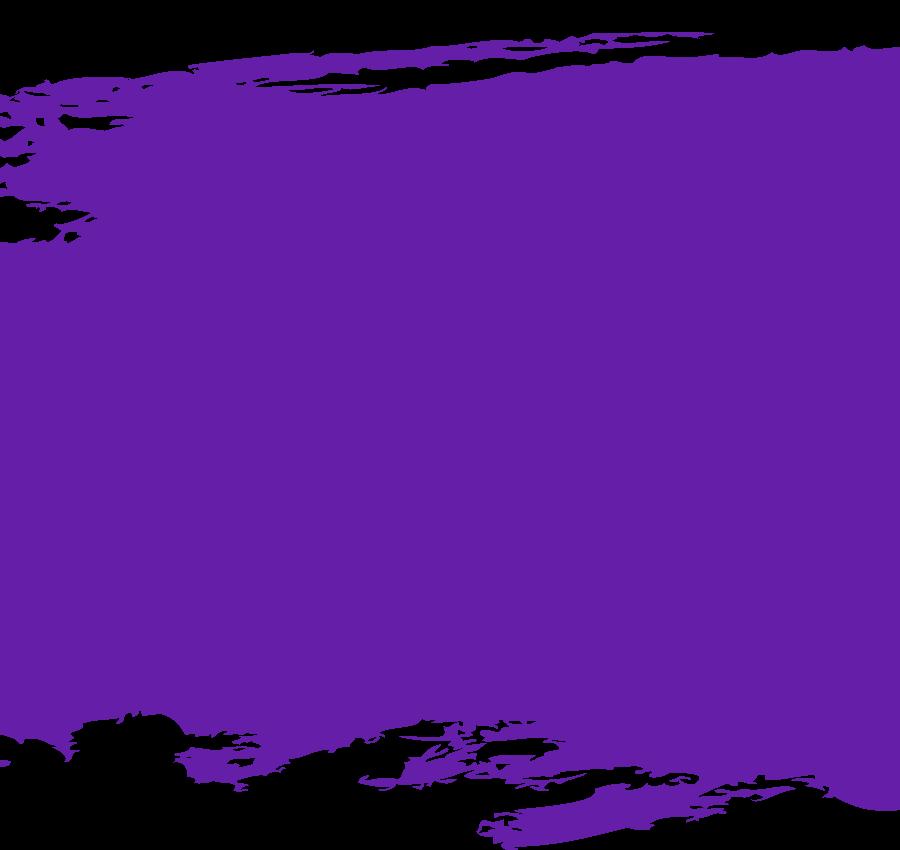 紫ペイント装飾